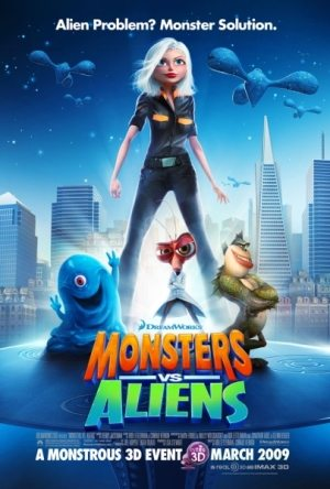 Монстры против пришельцев / Monsters vs. Aliens (2009) TS